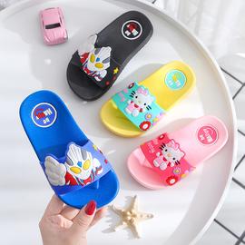 儿童拖鞋夏男女童宝宝亲子凉拖小中大童居家防滑浴室拖卡通沙滩鞋