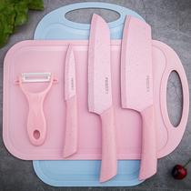 家用菜刀菜板二合一宿舍厨房刀全套宝宝切菜刀辅食刀具套装水果刀