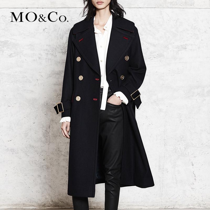 Mo&Co.摩安珂毛呢大衣女怎样,品牌口碑好吗