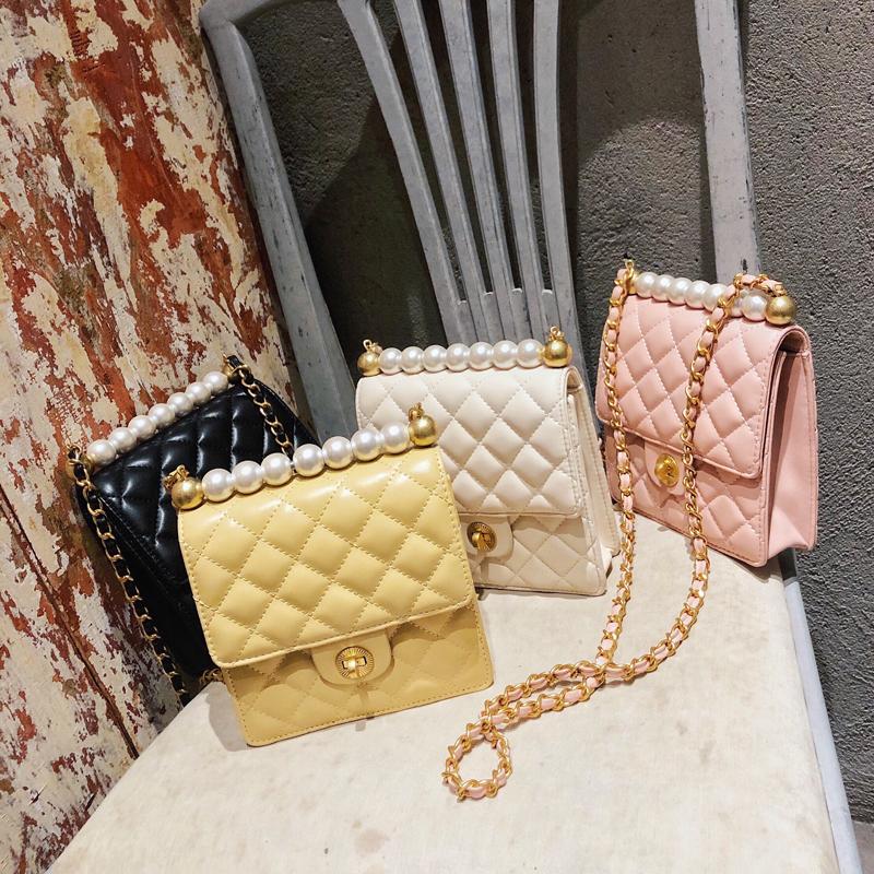 珍珠 包包 新款 夏天 香风 时尚 链条
