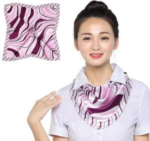 Front desk stewardess bow tie flower hotel China Southern Airlines staff decoration training clothes flower scarf collar female Korean professional wear