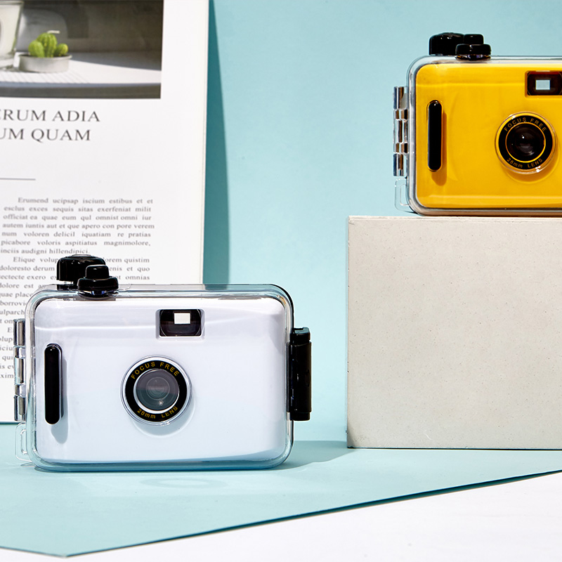 拍立得相机学生款便宜非一次性新佰胶片复古傻瓜相机定制小礼物