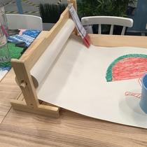 宜家莫拉画具画架画纸卷储存件宝宝儿童学习用品画纸绘画卷架正品