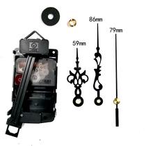 台湾太阳扫秒静音机芯时钟DIY石英钟表配件挂钟摇摆组合表芯指针