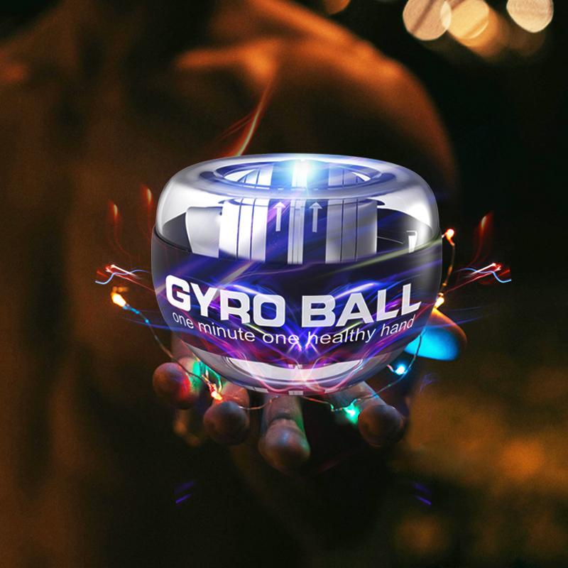 腕力球100公斤男式60离心臂力球自启动静音超级陀螺握力球腕力器