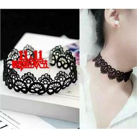 天天特价明星白色百搭黑色蕾丝项链颈带锁骨颈饰韩国新娘项圈