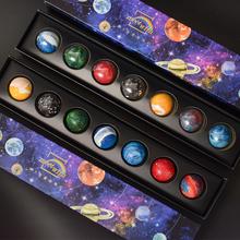 日式宝宝宇宙行星夹lq6星空星球xc力礼盒装送朋友礼物