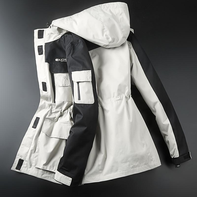 冲锋衣男女潮牌韩国三合一可拆卸两件套防水保暖原宿风登山滑雪服