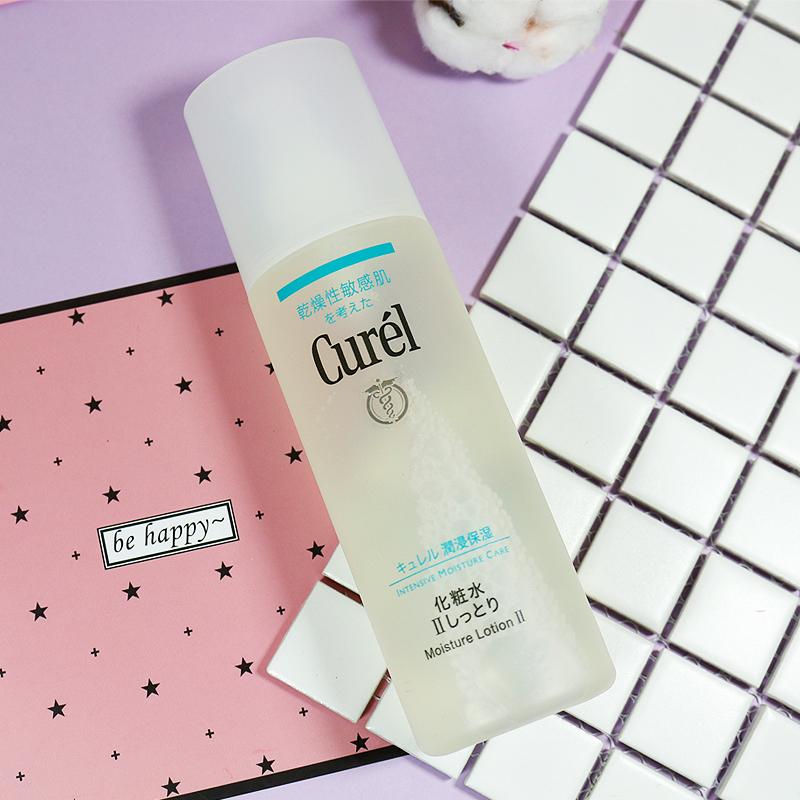 日本珂润/Curel润浸保湿1/2/3号化妆水150ml 敏感肌温和清爽肤水
