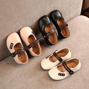 2020春款米卡童鞋韩版女童皮鞋公主鞋百搭宝宝鞋单鞋潮MK-A8737