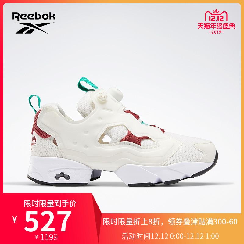 Reebok锐步官方 PUMP FURY 男女秋冬运动跑步鞋 JQ502
