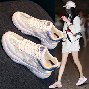 运动凉鞋女鞋2020新款夏季镂空平底时尚百搭包头沙滩休闲罗马孕妇