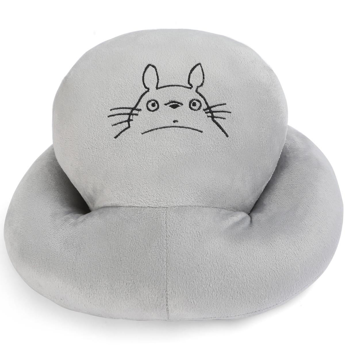 灰龙猫枕头