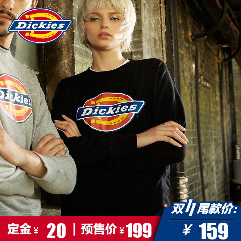 【预售】Dickies套头卫衣 男女同款长袖全棉 logo印花173U30EC14