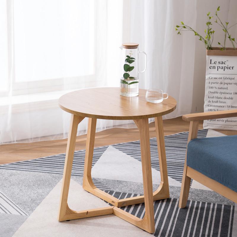 茶几北欧双层小户型现代客厅茶桌创意桌子简约沙发边几角几小圆桌