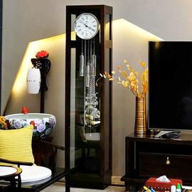 汉时欧式落地钟客厅现代机械座钟简约立钟德国赫姆勒钟表HG618