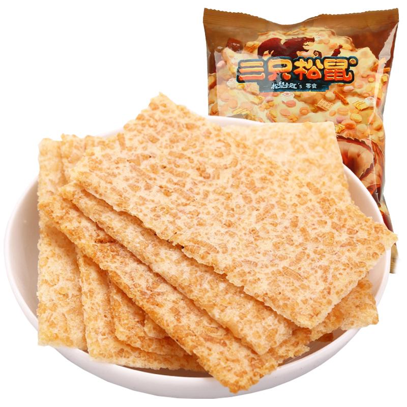 三只松鼠 小贱烤锅巴220g休闲零食小吃非油炸咪咪辣