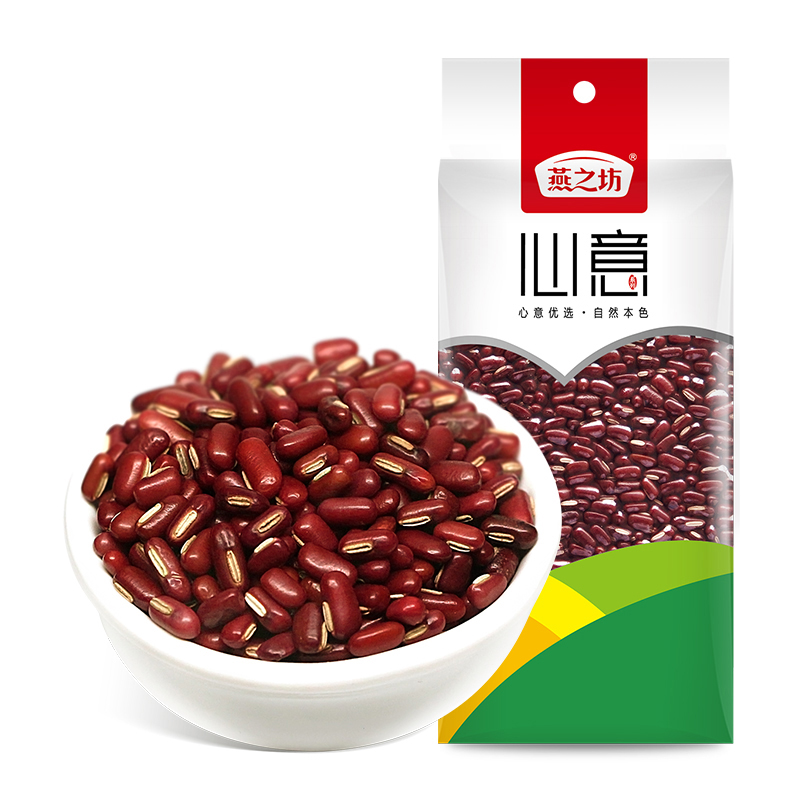 燕之坊 赤小豆五谷杂粮五谷杂粮红豆 长粒赤小豆420g粗粮豆