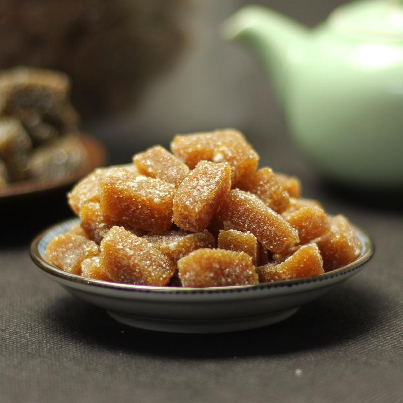 天天特价利东福 姜汁软糖手工老生姜糖台湾风味零食特产500g