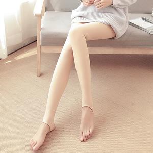 春秋季打底裤黑色外穿肤色一体裤光腿神器踩脚丝袜女连裤袜显瘦薄