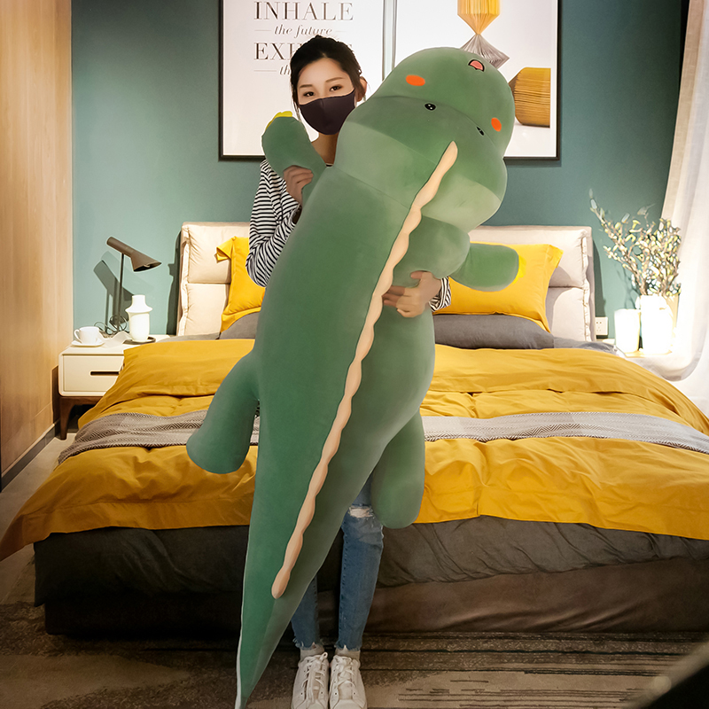 可爱恐龙毛绒玩具熊公仔床上陪你睡觉夹腿抱枕玩偶布娃娃礼物女孩