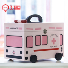 药箱家用药盒药品箱lu6纳盒家庭ft通可爱大容量急救箱医疗箱