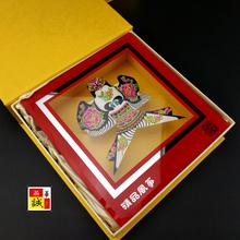 盒装(小)沙燕特色中国风(小)礼物送老ku12出国礼an京纪念品