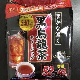 日本 东美堂油切黑乌龙茶阻断脂肪可冷/热水冲泡62袋增量装