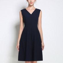 高端女无袖背心职业西装内搭打底吊带yt14色连衣jd(小)黑裙子