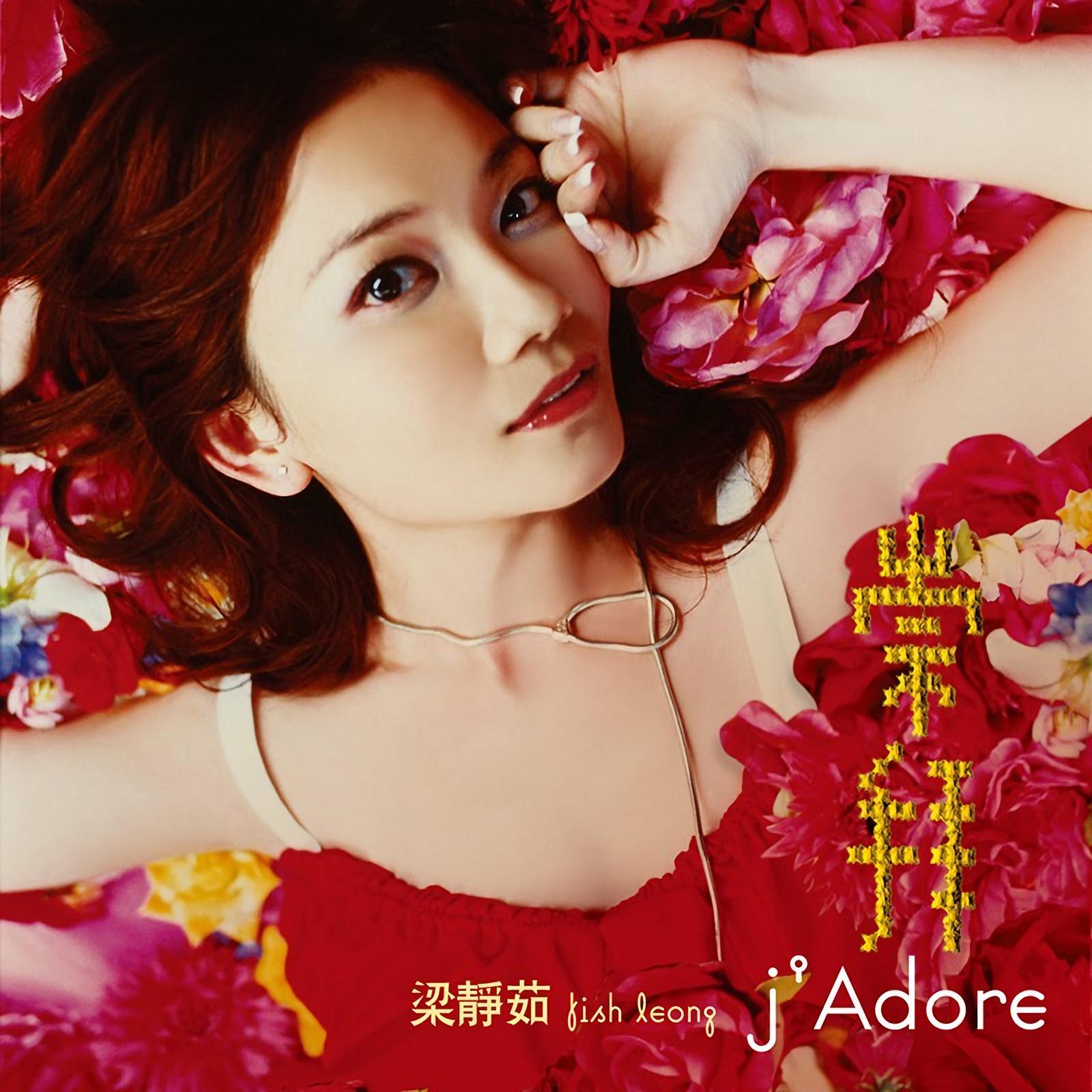 正版预售 梁静茹专辑《j'Adore 崇拜》枫叶红 CD+歌词本 2019再版