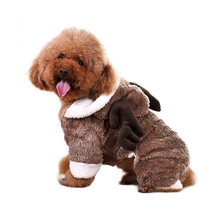 Pocci net dog clothes Yili small dog Teddy Kejibi bear autumn and winter models pet supplies cat clothes
