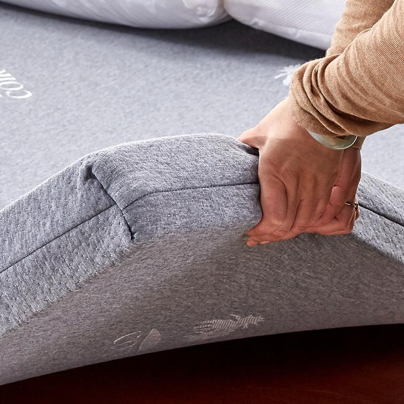 仿乳胶海绵床垫1.5m高密回弹棉席梦思软垫1.8米加厚学生宿舍褥子