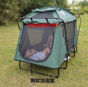 新款带天窗加高离地帐篷床钓鱼野营车顶防风防雨保暖四季折叠帐篷