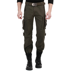Outdoor field army fan clothing climbing male army pants camouflage multi-pocket personality tactical overalls men and women trousers