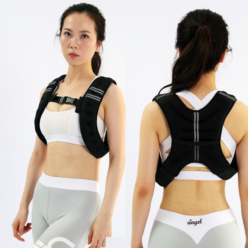 负重沙袋5-10Kg沙背心加重铁砂沙衣学生跑步男训练健身女运动装备