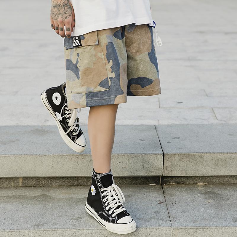 Q61男装短裤2020新款潮牌系列休闲宽松Q61