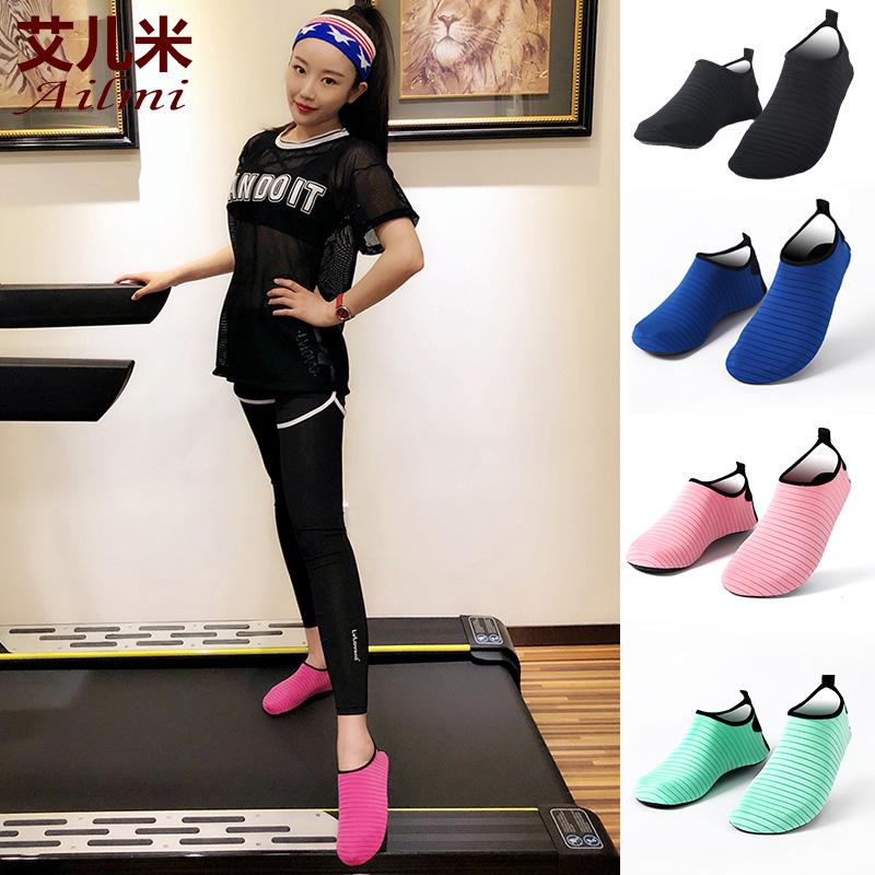 室内健身鞋女男健身房专用软底防滑瑜伽跳操绳舞鞋综合训练运动鞋