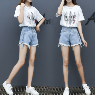 短裤套装女夏季2018新款韩版