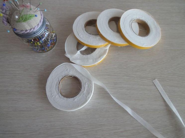 【制衣需要】牵条10mm宽有纺牵条嵌条进口双面羊绒 梵特思纸样