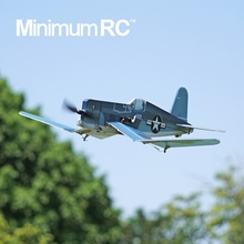 MinimumRC F4U 战斗机 lo15通道 ty型像真拼装二战机
