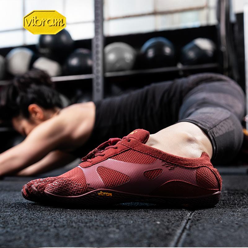 Vibram五指鞋女室内瑜伽普拉提赤足综合训练防滑健身运动鞋KSOEVO