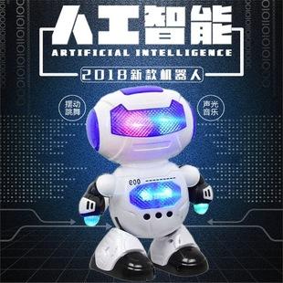 儿童 跳舞机器人音乐灯光小胖机