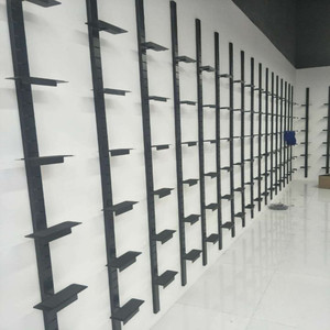 Store on the wall shoe rack combination display rack mall shoe store sports casual shoes shelf shoe store dedicated