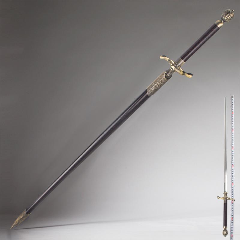 权力的游戏刀剑艾莉亚武器缝衣针剑冰与火之歌全金属剑包邮未开刃