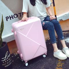 个性20寸密码行李箱女大学生旅行箱韩版小清新男24寸万向轮拉杆箱