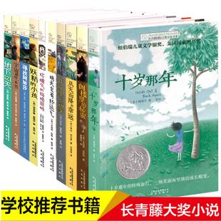 长青藤国际大奖小说 共10册 三四五六年级小学生课外书必读老师 阅读书籍儿童文学8-12岁的读物 妖精的小孩 十岁那年 正版图书