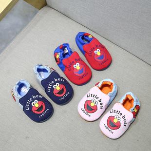 婴儿学步鞋春夏不掉软底鞋0-1-2—3岁男女宝宝透气凉鞋防滑地板鞋