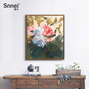 Nordic living room decorative painting hanging picture vertical version creative home accessories porch aisle mural