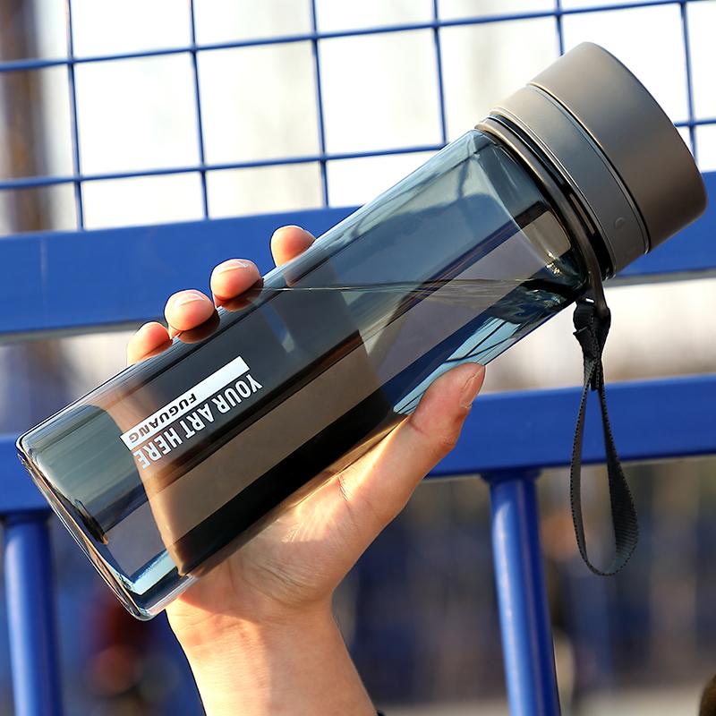 富光塑料水杯子1000ML茶杯男学生运动夏天便携太空杯超大容量水壶