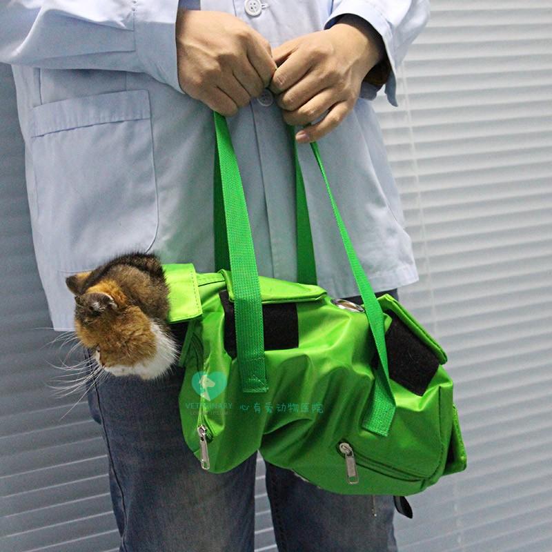 猫用保定包 掏耳朵 打针 输液 全新材料 超结实 猫包 洁耳包